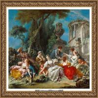 法国洛可可风格画派画家弗朗索瓦布歇Francois Boucher油画作品高清图片肖像画古典宫廷油画高清图片 (9)