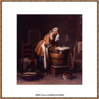 法国著名静物画家夏尔丹Jean Baptiste Siméon静物画巨匠夏尔丹油画作品高清图片 (77)