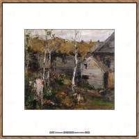俄裔美籍画家尼古拉费申Nicolai Ivanovich Fechin油画作品高清图片 (22)