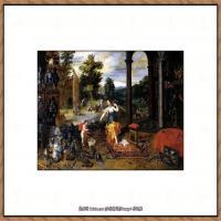 彼得勃鲁盖尔Bruegel Pieter荷兰画家油画作品高清图片 (56)