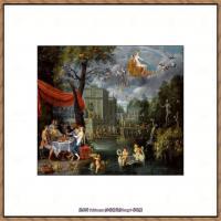 彼得勃鲁盖尔Bruegel Pieter荷兰画家油画作品高清图片 (72)