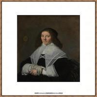 荷兰17世纪著名肖像画家德克哈尔斯Dirck Hals油画人物作品高清图片 (42)