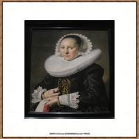荷兰17世纪著名肖像画家德克哈尔斯Dirck Hals油画人物作品高清图片 (4)