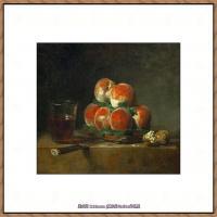 法国著名静物画家夏尔丹Jean Baptiste Siméon静物画巨匠夏尔丹油画作品高清图片 (16)