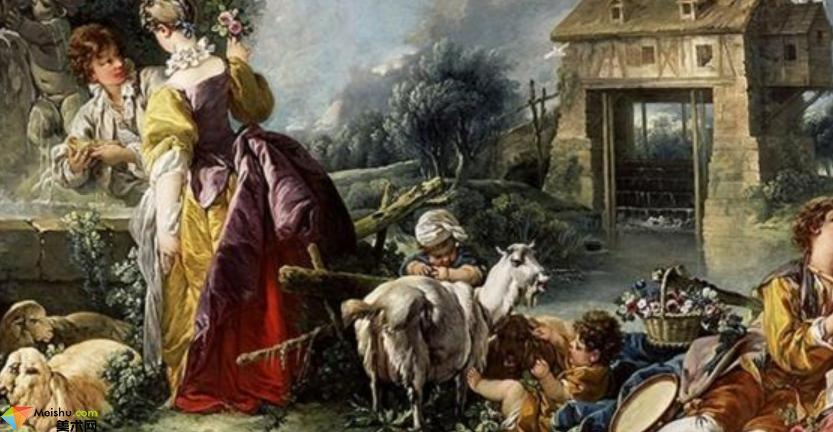 弗朗索瓦·布歇 Boucher Fran油画展(一)