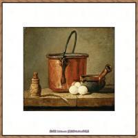 法国著名静物画家夏尔丹Jean Baptiste Siméon静物画巨匠夏尔丹油画作品高清图片 (55)