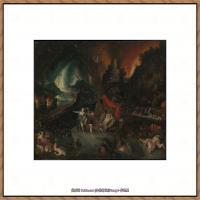 彼得勃鲁盖尔Bruegel Pieter荷兰画家油画作品高清图片 (47)