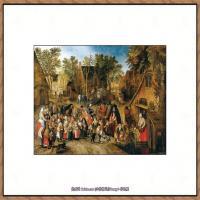 彼得勃鲁盖尔Bruegel Pieter荷兰画家油画作品高清图片 (58)