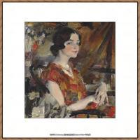 俄裔美籍画家尼古拉费申Nicolai Ivanovich Fechin油画作品高清图片 (2)