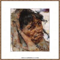 俄裔美籍画家尼古拉费申Nicolai Ivanovich Fechin油画作品高清图片 (40)