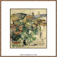 法国著名画家保罗塞尚Paul Cézanne印象派油画作品高清图片塞尚静物画塞尚风景画图片 (147)