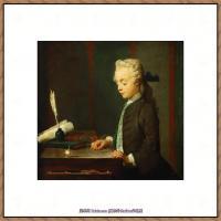 法国著名静物画家夏尔丹Jean Baptiste Siméon静物画巨匠夏尔丹油画作品高清图片 (67)