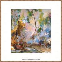 俄裔美籍画家尼古拉费申Nicolai Ivanovich Fechin油画作品高清图片 (55)