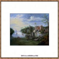 彼得勃鲁盖尔Bruegel Pieter荷兰画家油画作品高清图片 (75)