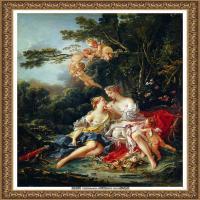 法国洛可可风格画派画家弗朗索瓦布歇Francois Boucher油画作品高清图片肖像画古典宫廷油画高清图片 (6)
