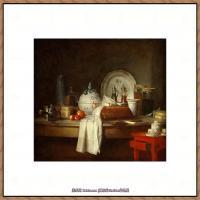法国著名静物画家夏尔丹Jean Baptiste Siméon静物画巨匠夏尔丹油画作品高清图片 (70)