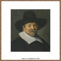 荷兰17世纪著名肖像画家德克哈尔斯Dirck Hals油画人物作品高清图片 (39)