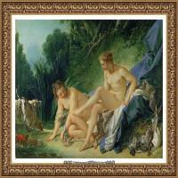 法国洛可可风格画派画家弗朗索瓦布歇Francois Boucher油画作品高清图片肖像画古典宫廷油画高清图片 (254)