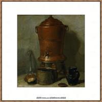 法国著名静物画家夏尔丹Jean Baptiste Siméon静物画巨匠夏尔丹油画作品高清图片 (30)