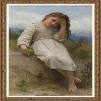 法国学院派画家威廉阿道夫布格罗Bouguereau Adolphe William油画人物高清图片 (62)