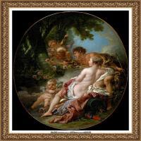 法国洛可可风格画派画家弗朗索瓦布歇Francois Boucher油画作品高清图片肖像画古典宫廷油画高清图片 (234)