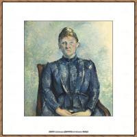 法国著名画家保罗塞尚Paul Cézanne印象派油画作品高清图片塞尚静物画塞尚风景画图片 (110)