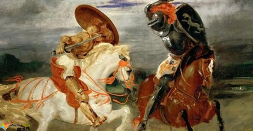 法国画家欧仁·德拉克罗瓦-油画展