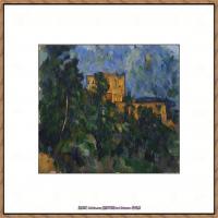 法国著名画家保罗塞尚Paul Cézanne印象派油画作品高清图片塞尚静物画塞尚风景画图片 (130)