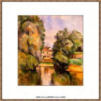 法国著名画家保罗塞尚Paul Cézanne印象派油画作品高清图片塞尚静物画塞尚风景画图片 (135)