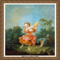 法国洛可可风格画派画家弗朗索瓦布歇Francois Boucher油画作品高清图片肖像画古典宫廷油画高清图片 (30)