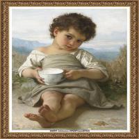 法国学院派画家威廉阿道夫布格罗Bouguereau Adolphe William油画人物高清图片 (83)