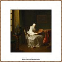 法国著名静物画家夏尔丹Jean Baptiste Siméon静物画巨匠夏尔丹油画作品高清图片 (28)