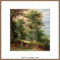 彼得勃鲁盖尔Bruegel Pieter荷兰画家油画作品高清图片 (79)