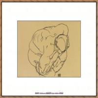 奥地利绘画大师埃贡席勒 Egon Schiele油画作品高清大图席勒绘画作品高清图片 (79)