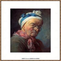 法国著名静物画家夏尔丹Jean Baptiste Siméon静物画巨匠夏尔丹油画作品高清图片 (58)