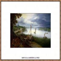 彼得勃鲁盖尔Bruegel Pieter荷兰画家油画作品高清图片 (65)