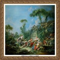 法国洛可可风格画派画家弗朗索瓦布歇Francois Boucher油画作品高清图片肖像画古典宫廷油画高清图片 (226)