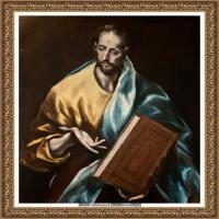 西班牙著名宗教画肖像画画家埃尔格列柯El Greco绘画作品高清图片 (135)