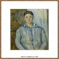 法国著名画家保罗塞尚Paul Cézanne印象派油画作品高清图片塞尚静物画塞尚风景画图片 (153)