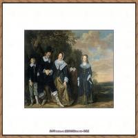 荷兰17世纪著名肖像画家德克哈尔斯Dirck Hals油画人物作品高清图片 (34)