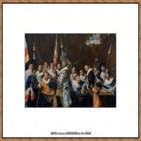 荷兰17世纪著名肖像画家德克哈尔斯Dirck Hals油画人物作品高清图片 (37)