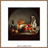 法国著名静物画家夏尔丹Jean Baptiste Siméon静物画巨匠夏尔丹油画作品高清图片 (7)