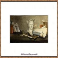 法国著名静物画家夏尔丹Jean Baptiste Siméon静物画巨匠夏尔丹油画作品高清图片 (26)