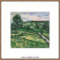 法国著名画家保罗塞尚Paul Cézanne印象派油画作品高清图片塞尚静物画塞尚风景画图片 (112)