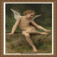 法国学院派画家威廉阿道夫布格罗Bouguereau Adolphe William油画人物高清图片 (74)