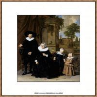 荷兰17世纪著名肖像画家德克哈尔斯Dirck Hals油画人物作品高清图片 (7)