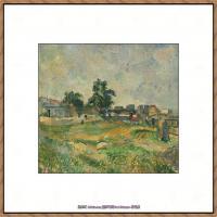 法国著名画家保罗塞尚Paul Cézanne印象派油画作品高清图片塞尚静物画塞尚风景画图片 (108)