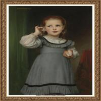 法国学院派画家威廉阿道夫布格罗Bouguereau Adolphe William油画人物高清图片 (75)
