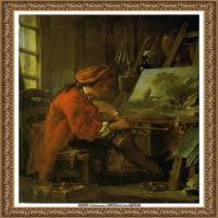 法国洛可可风格画派画家弗朗索瓦布歇Francois Boucher油画作品高清图片肖像画古典宫廷油画高清图片 (252)