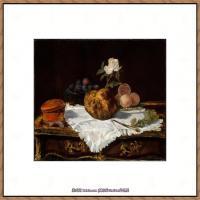 法国著名静物画家夏尔丹Jean Baptiste Siméon静物画巨匠夏尔丹油画作品高清图片 (14)
